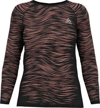 Odlo Blackcomb Ceramicool shirt Dames Zwart