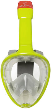 Atlantis hot lime l/xl snorkelmasker Groen