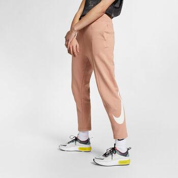 Nike Sportswear Swoosh broek Dames Roze