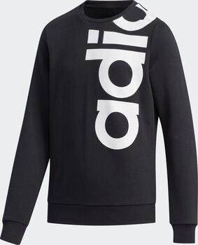 ADIDAS Logo Crew sweater Jongens Zwart