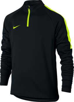 Nike Drill Academy jr sweater Zwart