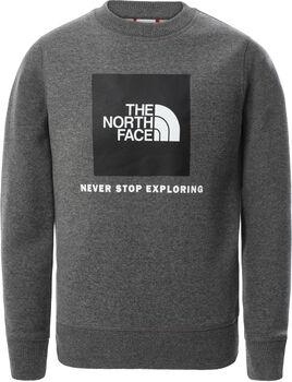 The North Face Box Crew kids sweater Jongens Grijs