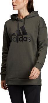 ADIDAS Must Haves Badge of Sport Logo hoodie Dames Groen
