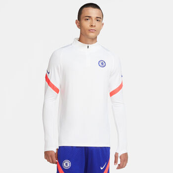 Nike Chelsea FC Strike Drill top 20/21 Heren Wit