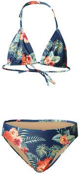 Brunotti Lollypop-Flower kids bikini Meisjes Blauw