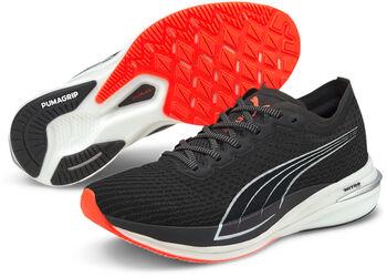 Puma Deviate Nitro hardloopschoenen Dames Zwart