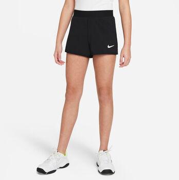 Nike Court Dri-FIT Victory kids short Meisjes Zwart