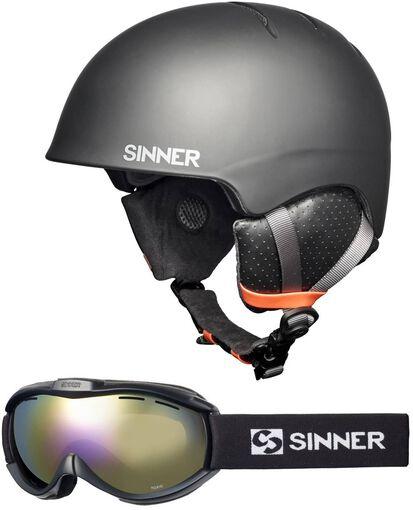 Sinner - Combi-pack ( Lost Trail , Toxic ) - Heren - Helmen - Zwart - M