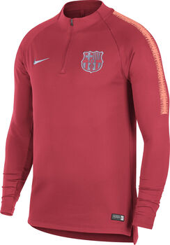 Nike FC Barcelona Dry Squad Drill shirt Heren Roze