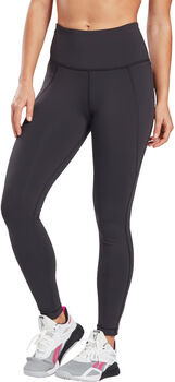 Reebok Lux High-Rise Legging Dames Zwart
