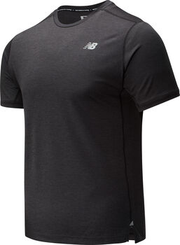 New Balance Impact Run shirt Heren Zwart
