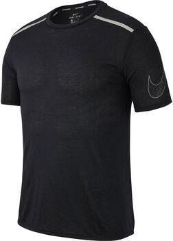 Nike Breathe Rise 365 Running shirt Heren Zwart