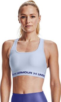 Under Armour Crossback Mid sportbeha Dames Blauw