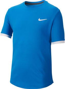 Nike Court Dry shirt Jongens Blauw