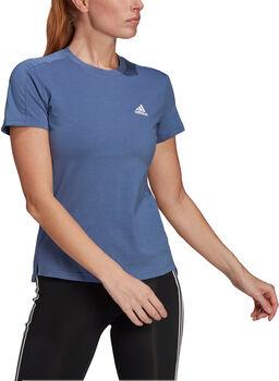adidas Women Designed To Move AEROREADY T-shirt Dames Blauw