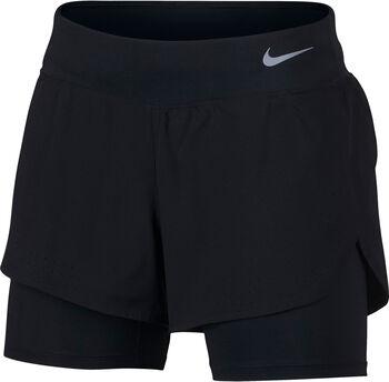 Nike Eclipse 2-in-1 short Zwart