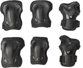 Rollerblade Skate Gear beschermers 3-pack Zwart
