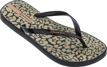 Ipanema Animal Print slippers Dames Zwart