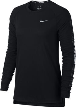 Nike Tailwind longsleeve Dames Zwart