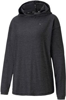 Puma Studio Knit hoodie Dames Grijs