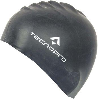 TECNOPRO Siliconen badmuts Zwart