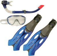 Glide masker + snorkel + vinnen 45-46