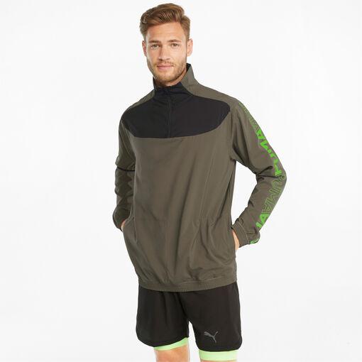 Train Woven 1/2 Zip sweater