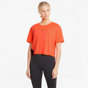 Puma Run Cooladapt shirt Dames Oranje