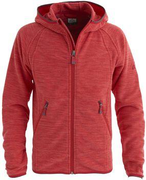 McKINLEY Choco jr fleece hoodie Meisjes Rood
