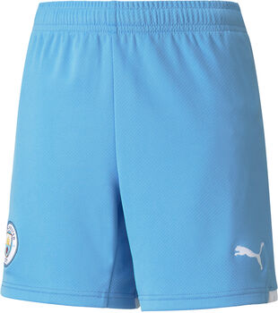 Puma Manchester City FC kids thuisshort 21/22 Jongens Blauw