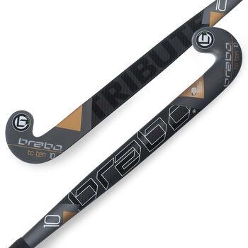 Brabo TC-10 zaalhockeystick Heren Zwart