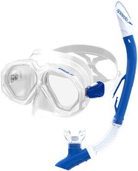 Speedo Dual Lenses Combo snorkelset Geel
