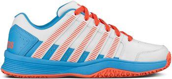 K-Swiss Court Impact LTR Omni tennisschoenen Meisjes Wit
