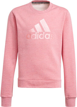 adidas Future Icons Logo Sweatshirt Meisjes Roze