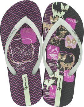 Ipanema Unique jr slippers Meisjes Zwart