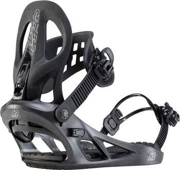 K2 Mach snowboardbinding Heren Zwart