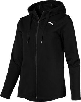 Puma Modern Sport Logo hoodie Dames Zwart