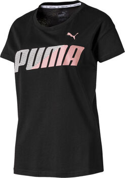 Puma Modern Sport Graphic shirt Dames Zwart