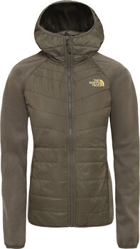 The North Face Arashi III Insulated Hybrid jack Dames Groen