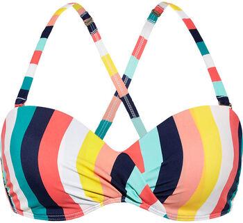 Beach Life Bandeau Bikinitop Dames Multicolor