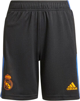 adidas Real Madrid Tiro kids trainingsshort 21/22 Jongens Zwart