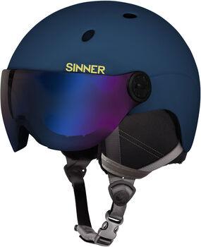 Sinner Titan Visor skihelm Heren Blauw