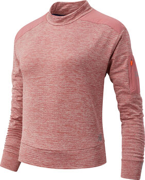 New Balance Heat Grid Long Sleeve shirt Dames Rood