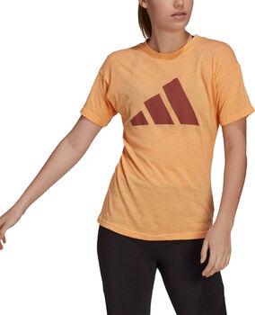 adidas Sportswear Winners 2.0 t-shirt Dames Oranje