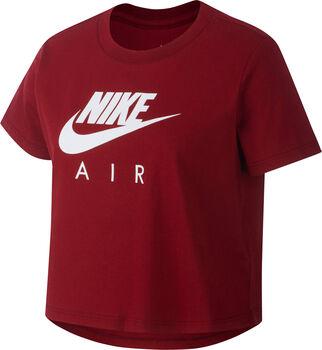 Nike Sportswear Air Crop shirt Meisjes Rood