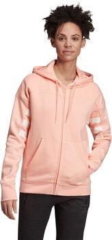 adidas Sport ID hoodie Dames Rood