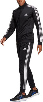 adidas Primegreen Essentials 3-Stripes Trainingspak Heren Zwart
