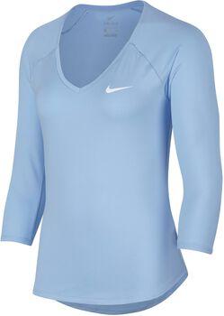 Nike Pure 3/4 shirt Dames Blauw