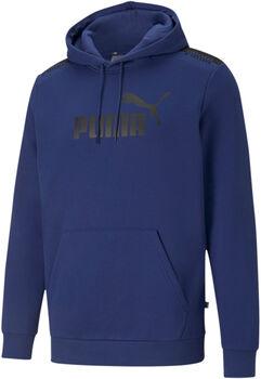 Puma Amplified hoodie Heren Zwart