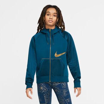 Nike Sportswear Icon Clash Fleece top Dames Blauw